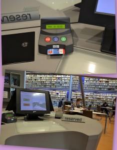 Fasilitas digital di Perpustakaan TU-Defl