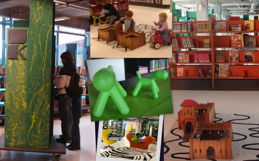 Fasilitas bermain untuk anak di DOK Library
